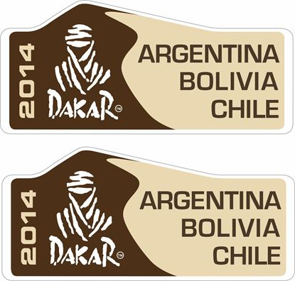 Picture of Dakar Rally 2014 Decals / Stickers