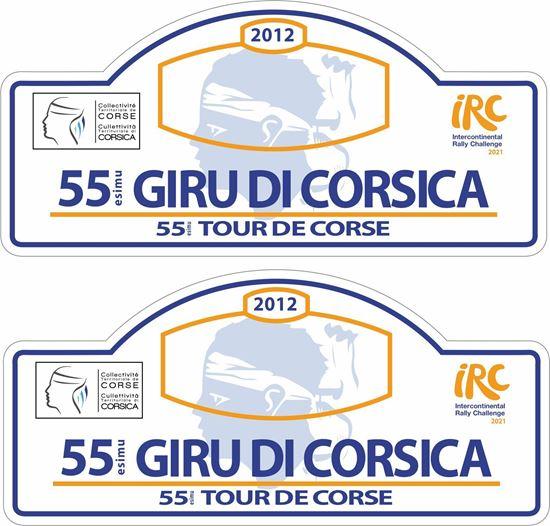 Picture of 55 esimu Giru Di Corsica Rally Decals / Stickers