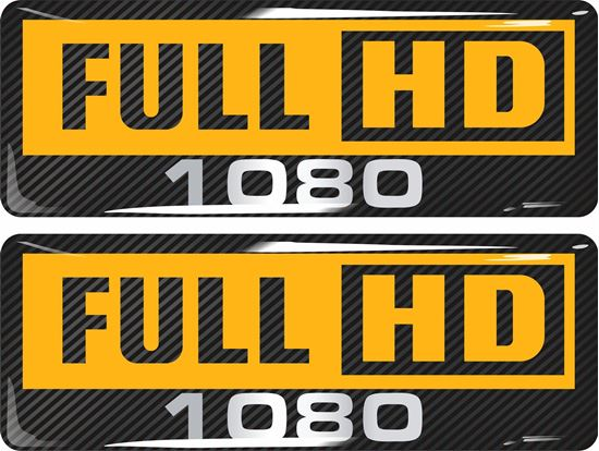 Picture of Full HD 1080 Gel Badges