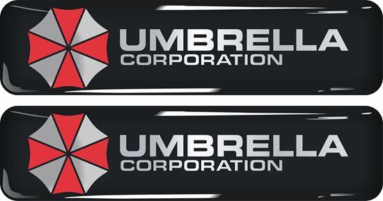Picture of Umbrella Corporation Gel Badges