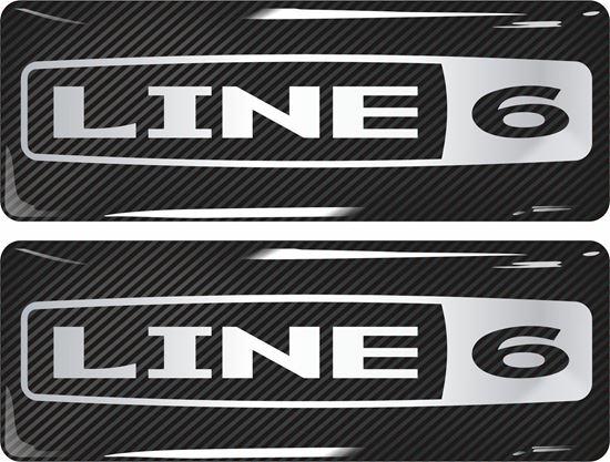 Picture of Line 6 Gel Badges