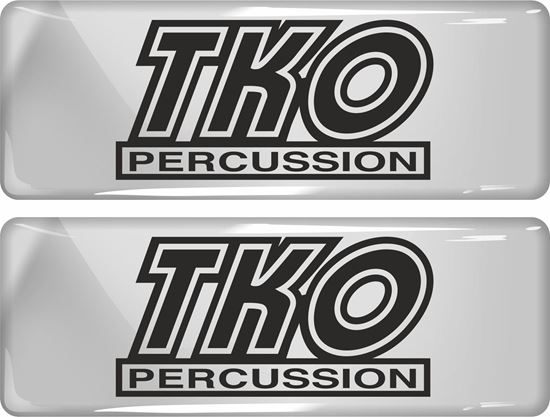 Picture of TKO Percussion Gel Badges