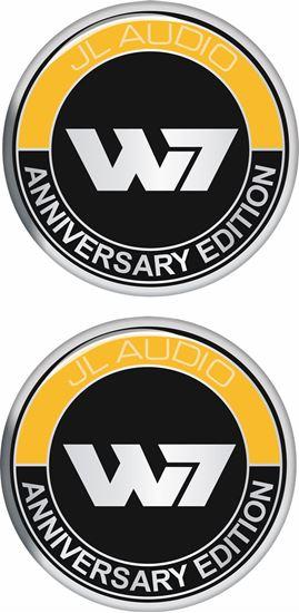 Picture of JL Audio W7 Anniversary Gel Badges