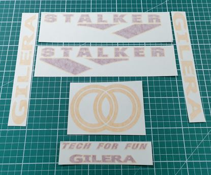 Picture of Gilera Scooter Stalker Tech for fun replacement Decals / Stickers