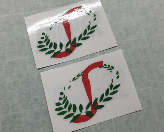 Picture of Mini Cooper S Decals / Stickers 3.5 inches