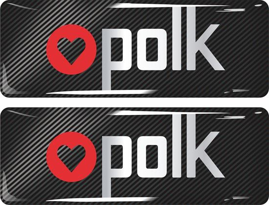 Picture of Polk Gel Badges