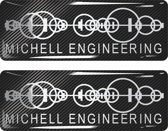 Picture of Michell Engineering Gel Badges