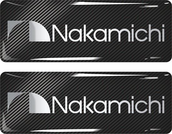 Picture of Nakamichi Gel Badges