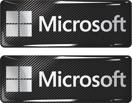 Picture of Microsoft Gel Badges