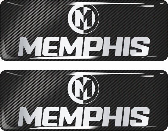 Picture of Memphis Car Audio Gel Badges