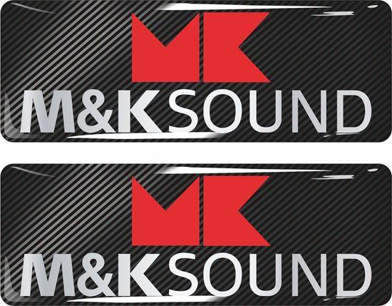 Picture of M&K Sound Gel Badges