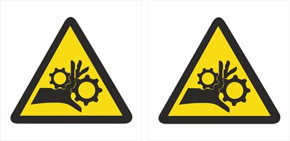 Picture of Caution Decals / Stickers