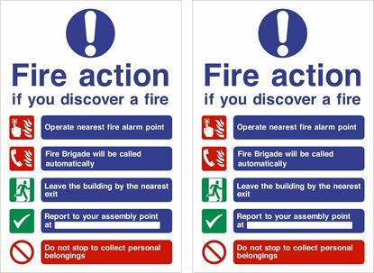 Picture of Fire action Decals / Stickers