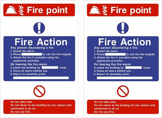 Picture of Fire action / Fire point Decals / Stickers