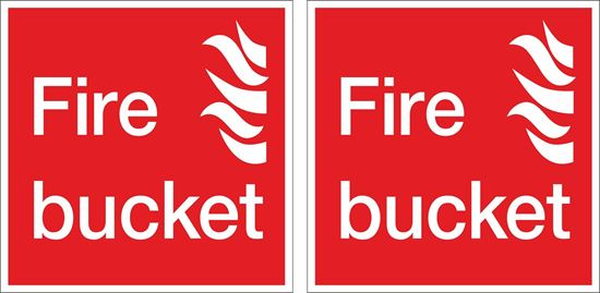 Picture of Fire Bucket Decals / Stickers