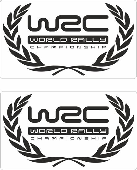 Picture of WRC World Rally Decals / Stickers