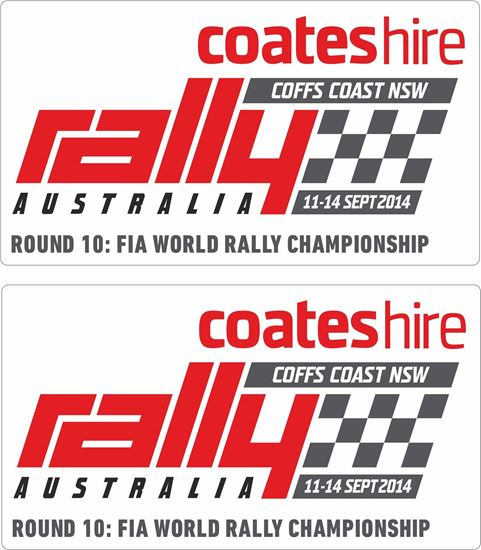 Picture of Coffs Coast NSW Rally Decals / Stickers