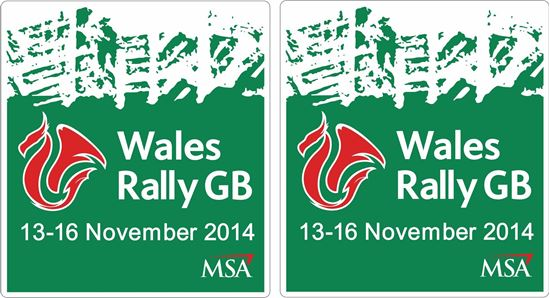 Picture of Wales Rally GB 2014 Decals / Stickers