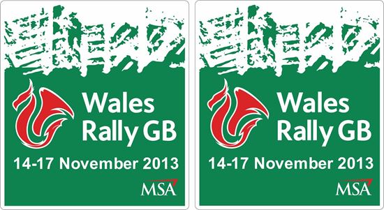 Picture of Wales Rally GB 2013 Decals / Stickers