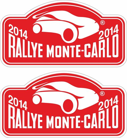Picture of Rally Monte-Carlo 2014 Decals / Stickers