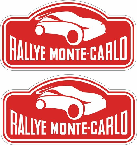 Picture of Rally Monte-Carlo Decals / Stickers