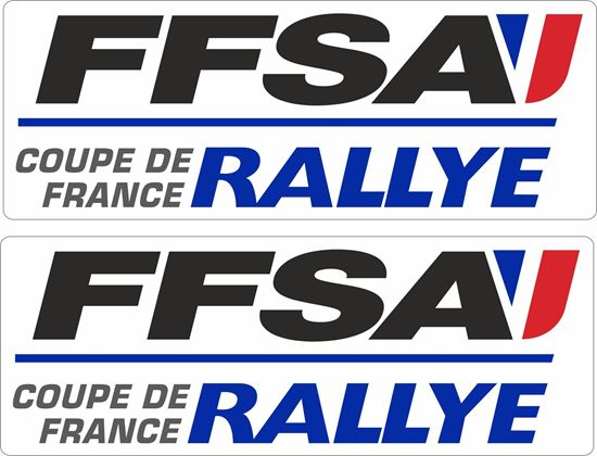 Picture of FFSA Rallye Decals / Stickers
