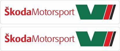 Picture of Skoda Motorsport Decals / Stickers
