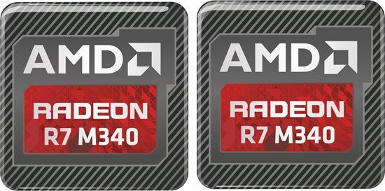 Picture of AMD Radeon R7 M340 Gel Badges