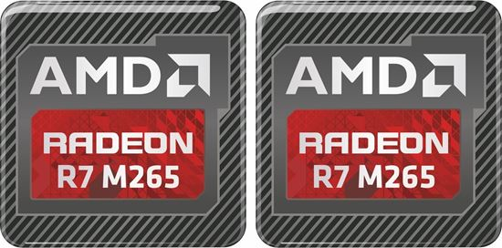 Picture of AMD Radeon R7 M265 Gel Badges