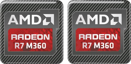 Picture of AMD Radeon R7 M360 Gel Badges