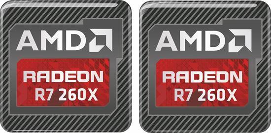 Picture of AMD Radeon R7 260X Gel Badges