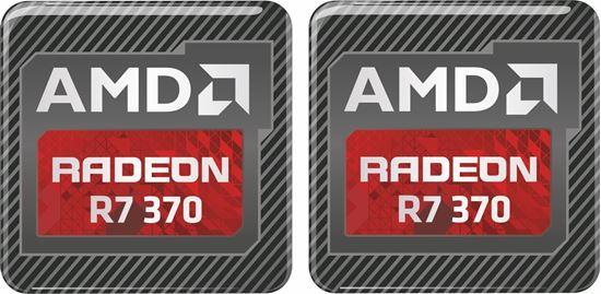 Picture of AMD Radeon R7 370 Gel Badges
