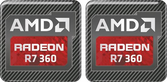 Picture of AMD Radeon R7 360 Gel Badges
