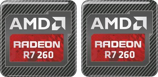Picture of AMD Radeon R7 260 Gel Badges