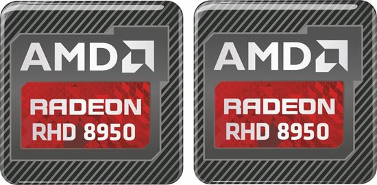 Picture of AMD Radeon RHD 8950 Gel Badges