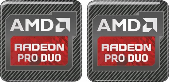 Picture of AMD Radeon Pro Duo Gel Badges