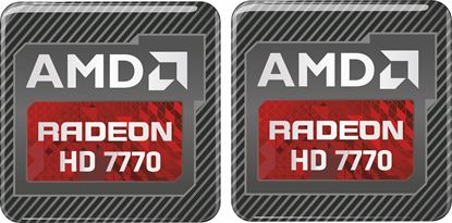 Picture of AMD Radeon HD 7770 Gel Badges