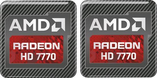 Picture of AMD Radeon HD 7770 Gel Badges