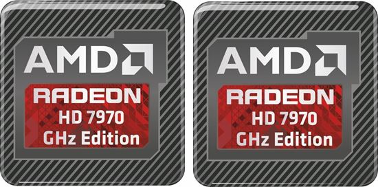 Picture of AMD Radeon HD 7970 GHz Edition Gel Badges