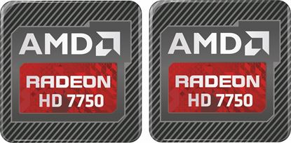 Picture of AMD Radeon HD 7750 Gel Badges