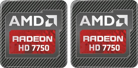 Picture of AMD Radeon HD 7750 Gel Badges