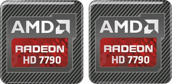 Picture of AMD Radeon HD 7790 Gel Badges