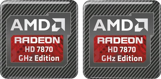 Picture of AMD Radeon HD 7870 GHz Edition Gel Badges