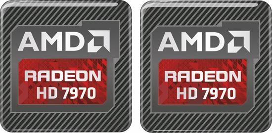 Picture of AMD Radeon HD 7970 Gel Badges