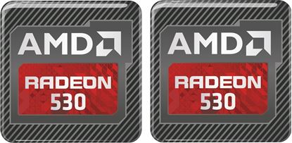 Picture of AMD Radeon 530 Gel Badges