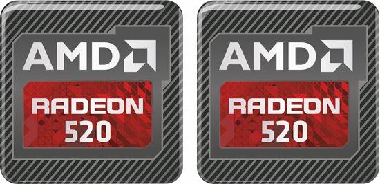 Picture of AMD Radeon 520 Gel Badges