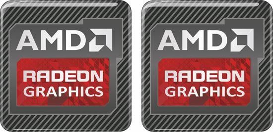 Picture of AMD Radeon Graphics Gel Badges