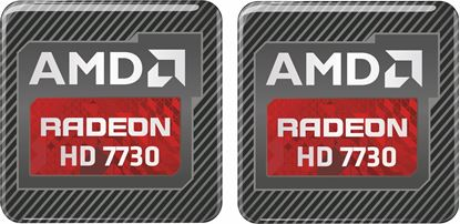 Picture of AMD Radeon HD 7730 Graphics Gel Badges