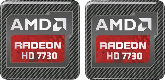 Picture of AMD Radeon HD 7730 Graphics Gel Badges