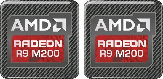 Picture of AMD Radeon R9 M200 Graphics Gel Badges